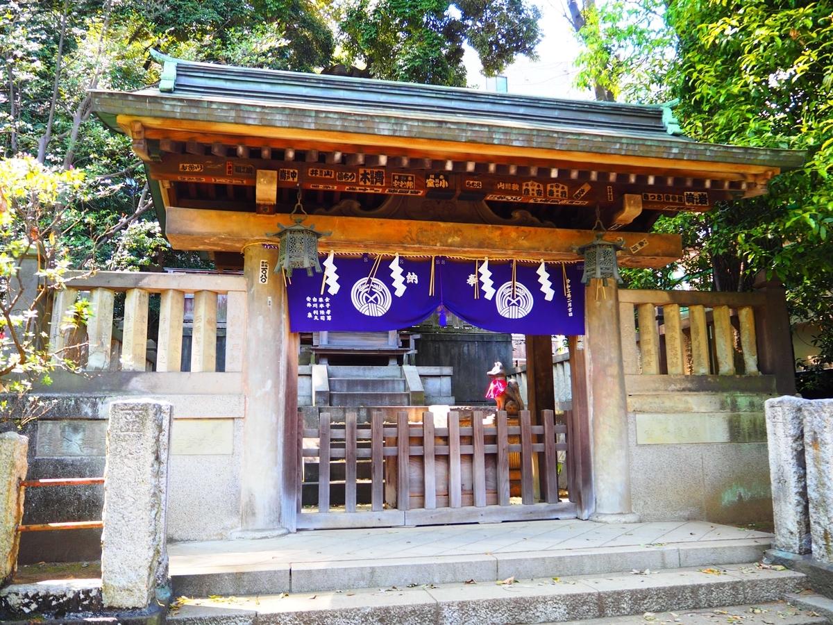 駒込稲荷神社の社殿