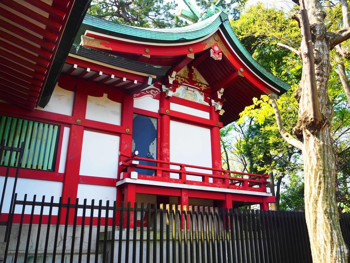 瀬田玉川神社の本殿