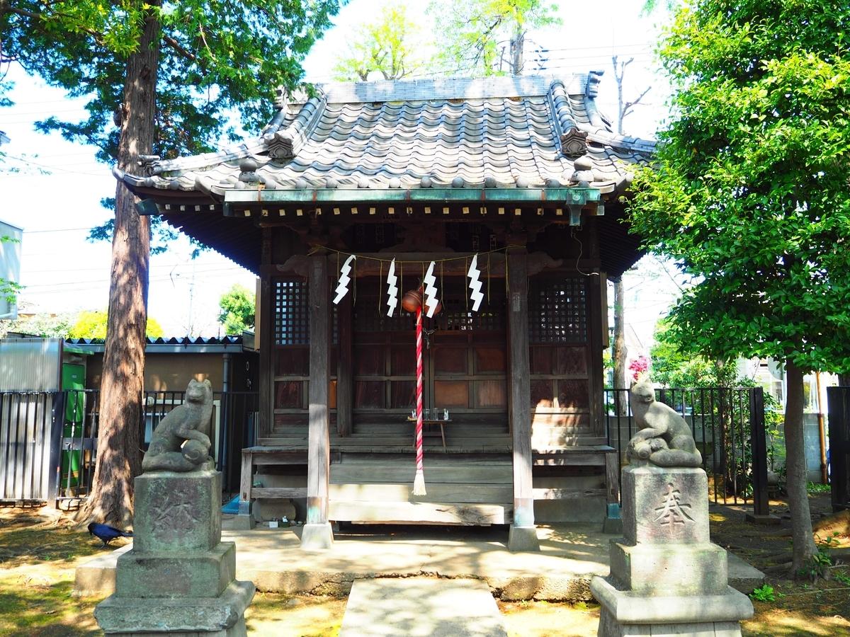 瘡守稲荷神社の社殿
