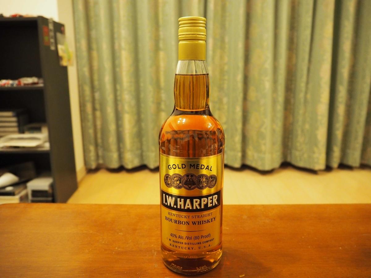 I.W.ハーパーのボトル