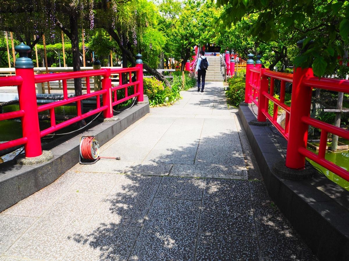 亀戸天神社の平橋