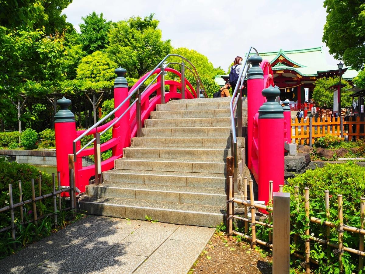 亀戸天神社の女橋