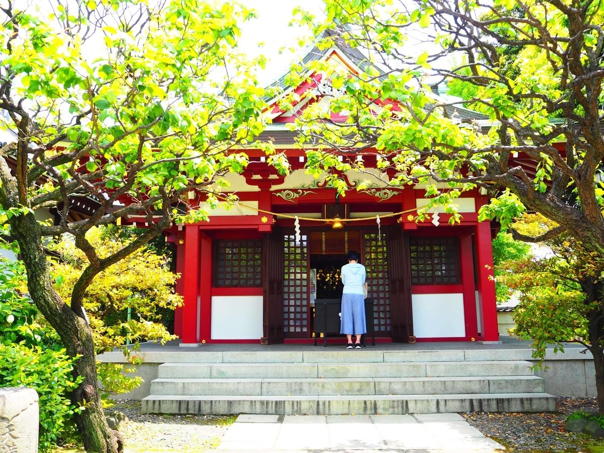 境内社の御嶽神社