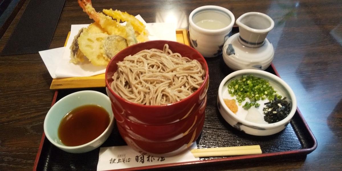 天ぷら割子3段