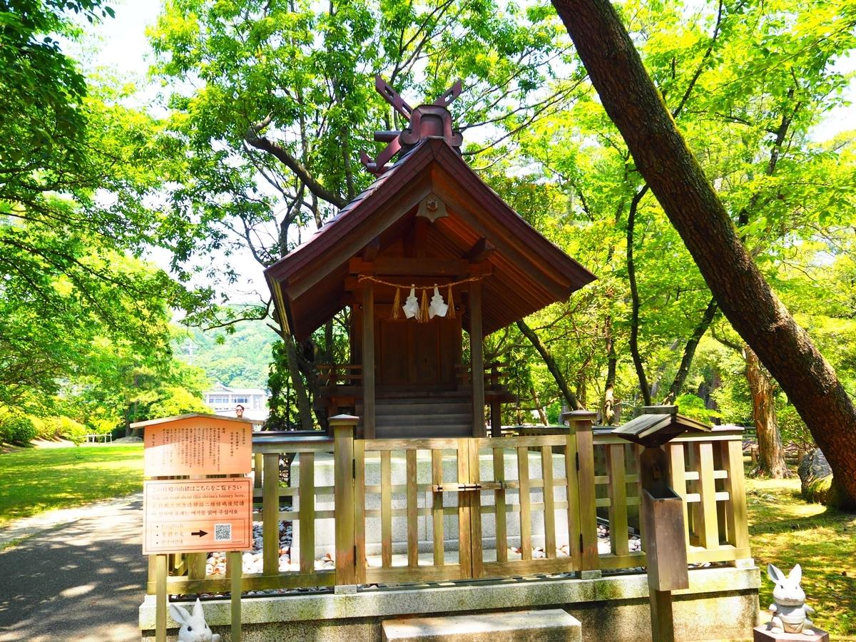 野見宿禰神社の社殿