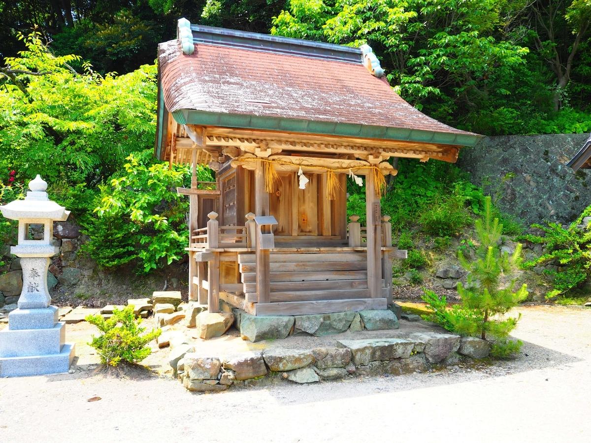 日沉宮境内社の蛭児神社