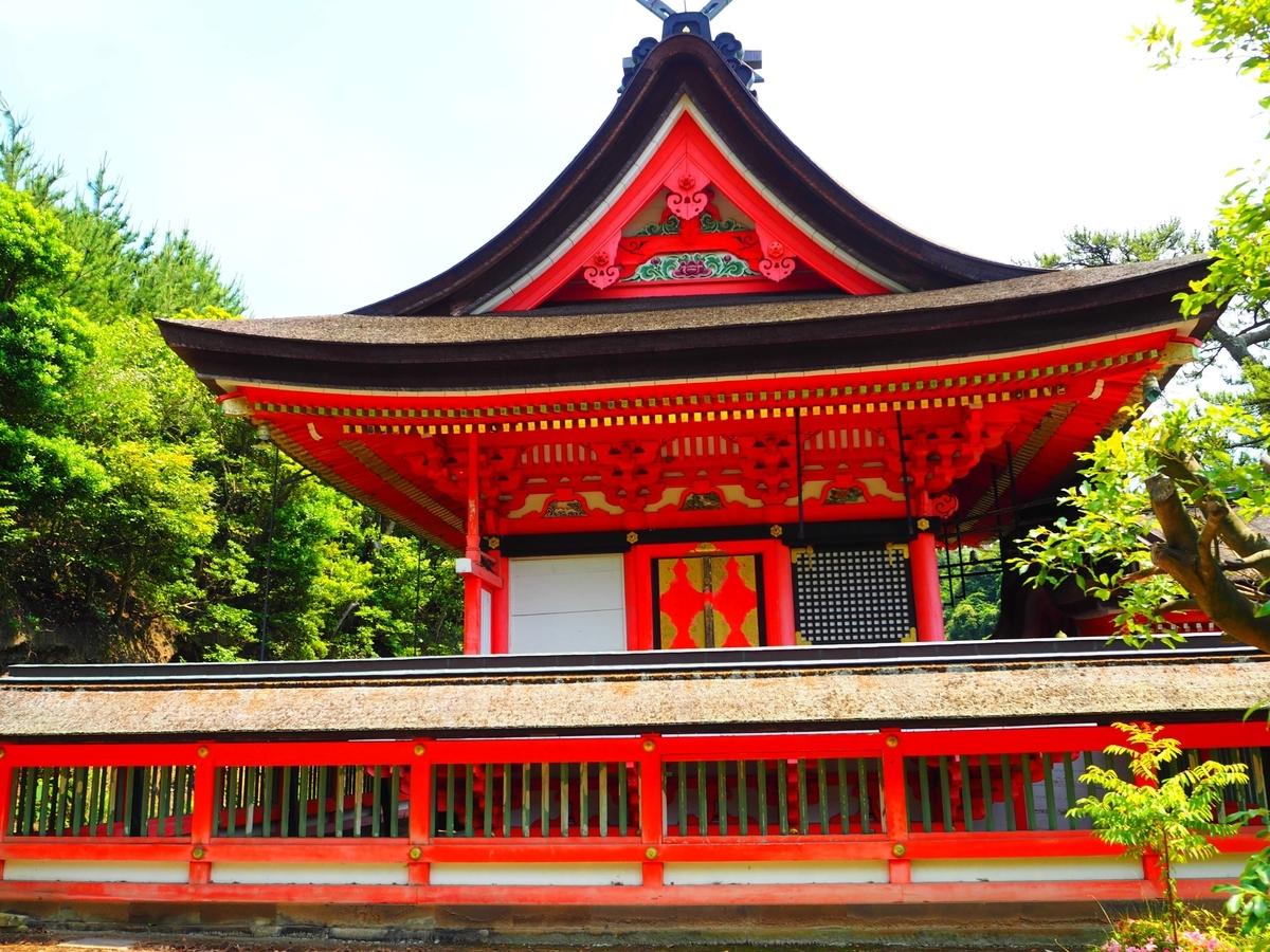 上の宮の本殿