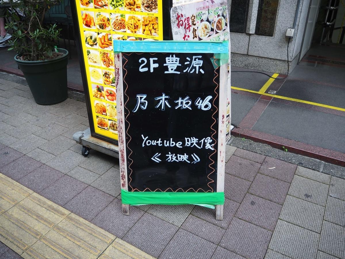 周辺の店の看板