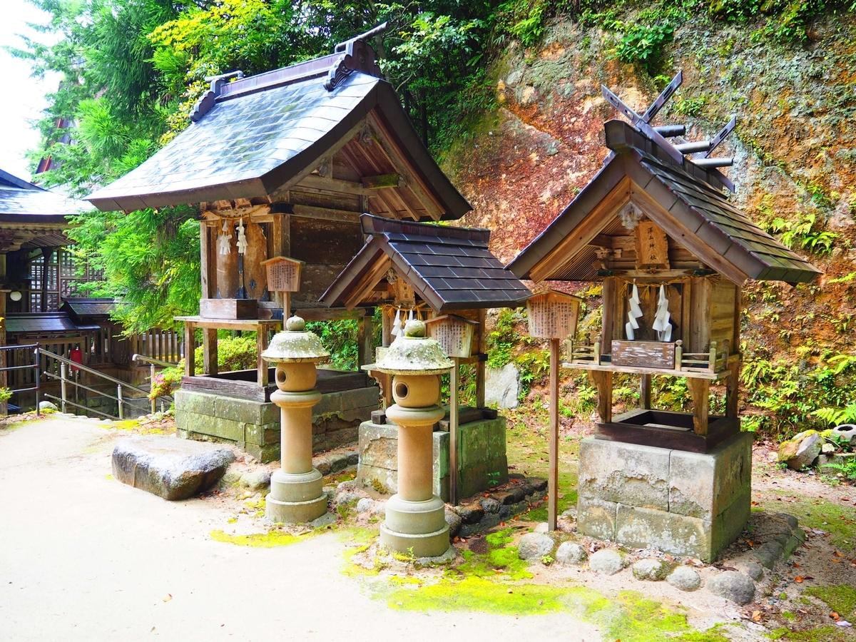 素鵞神社・福徳神社・澤玉神社
