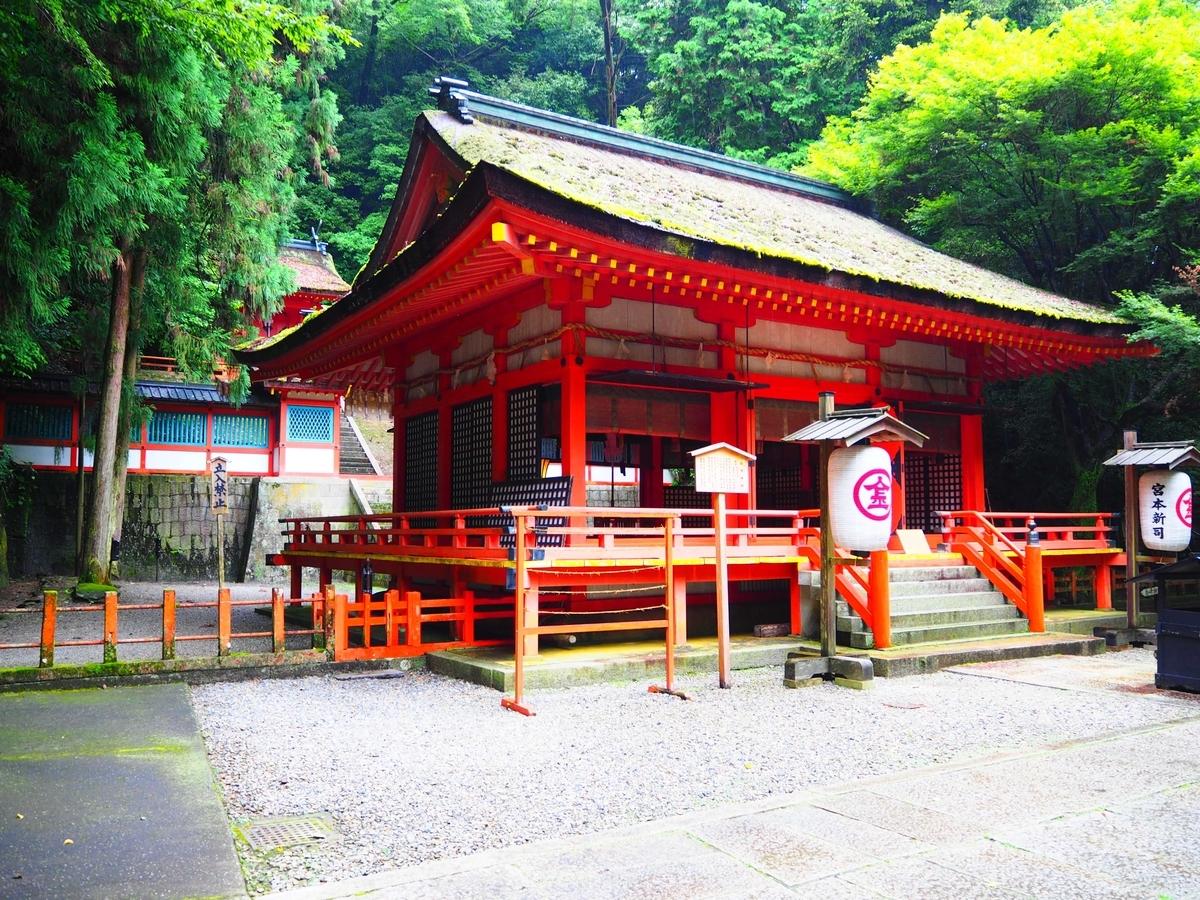 白峰神社の社殿