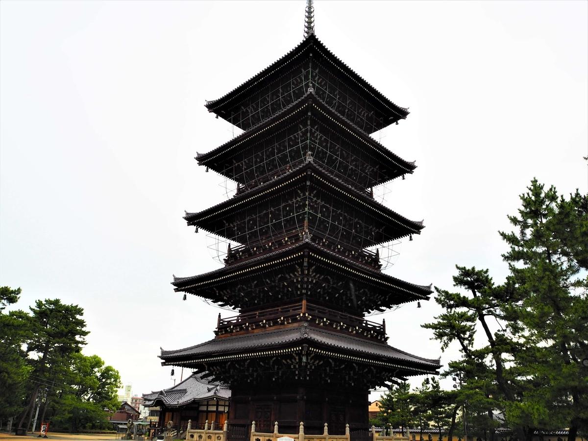 善通寺の五重塔