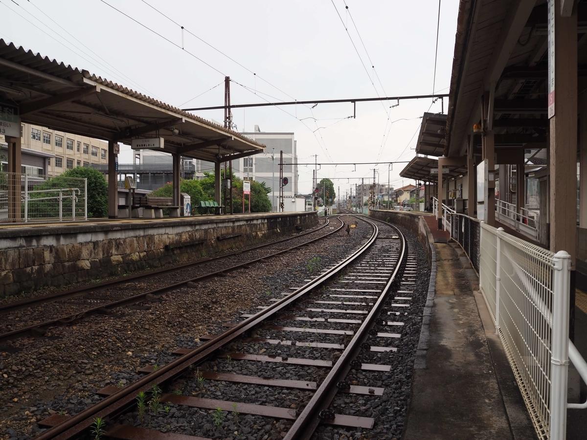 新幹線と同じ幅の琴電の線路