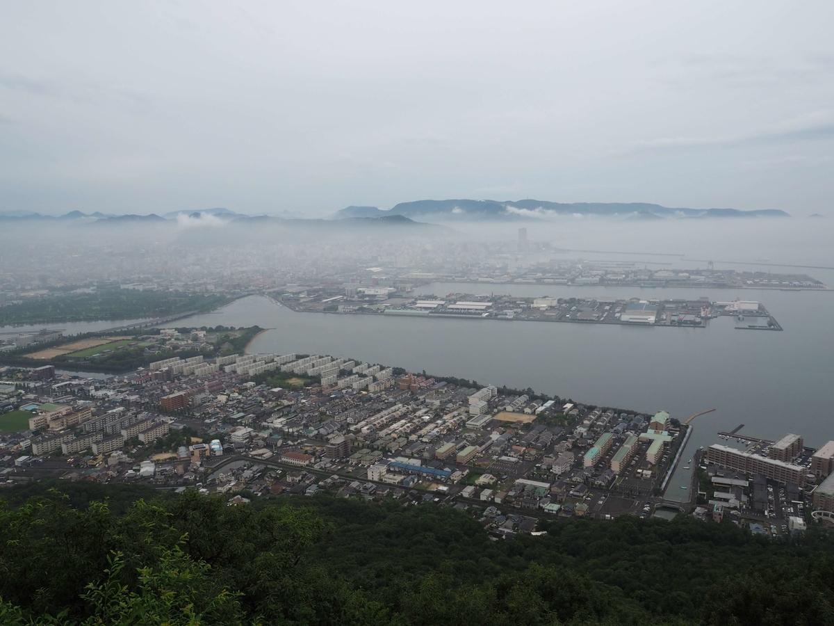 屋島から見た高松市街