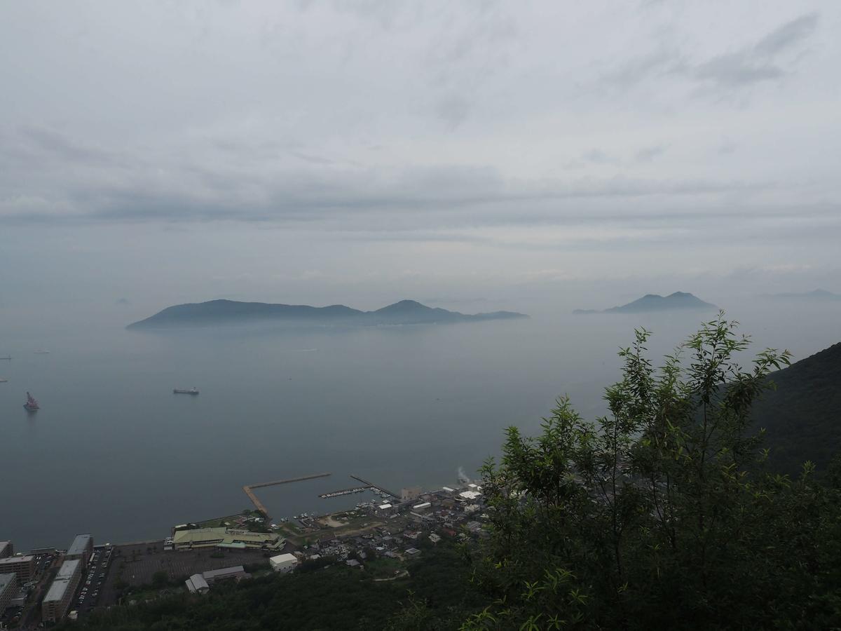 屋島から見た瀬戸内海