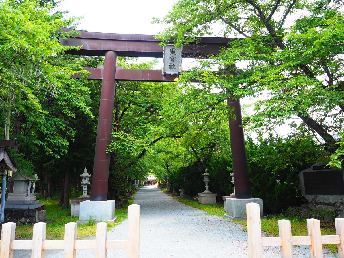 冨士御室浅間神社の大鳥居