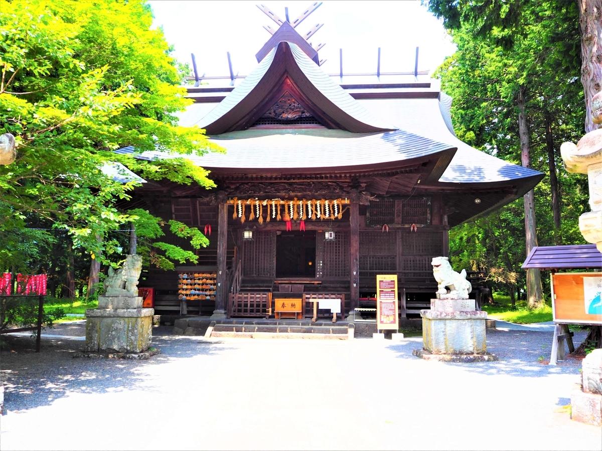冨士御室浅間神社の里宮社