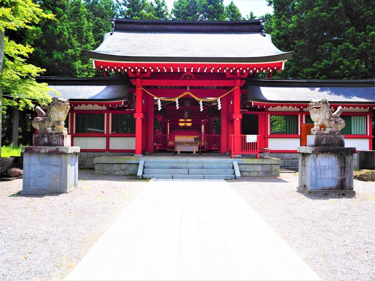 冨士御室浅間神社の本宮