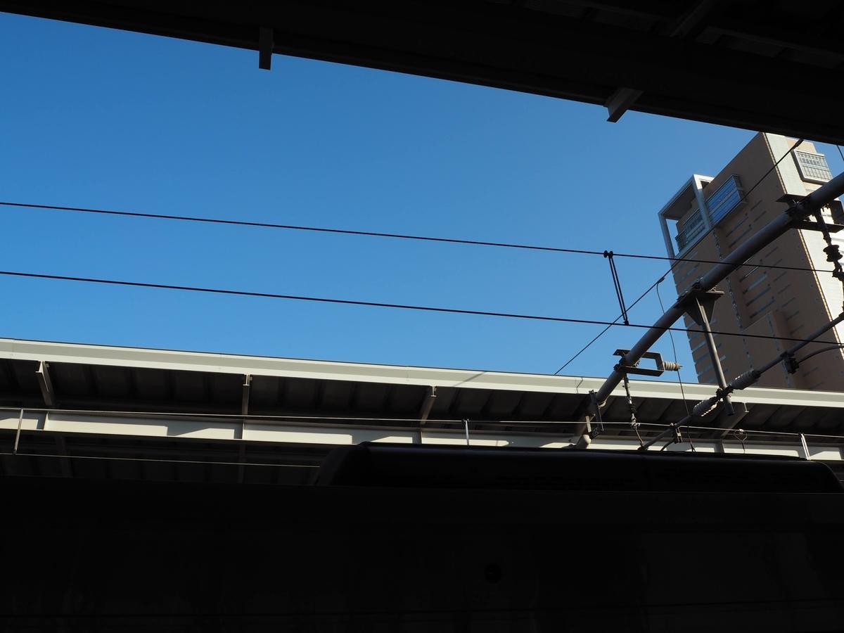 高松駅の架線