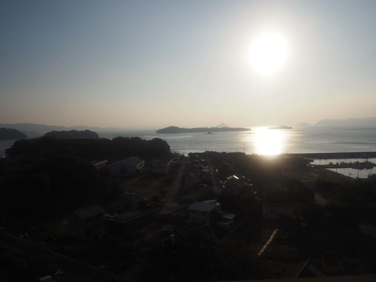 塩飽諸島の島の様子