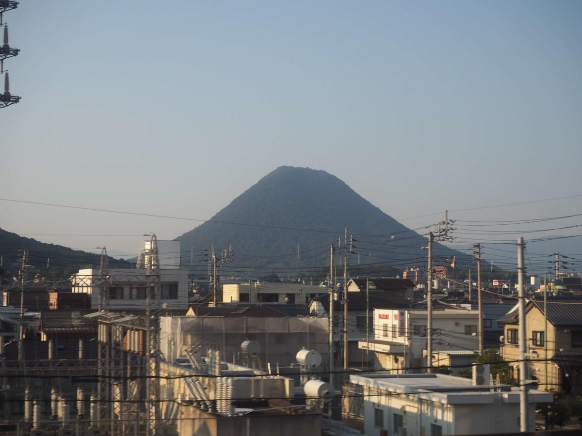 讃岐冨士の名で知られた飯野山