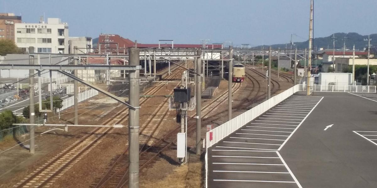 琴平駅の全景