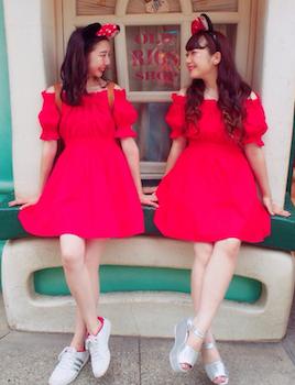 「双子ファッション」の画像検索結果