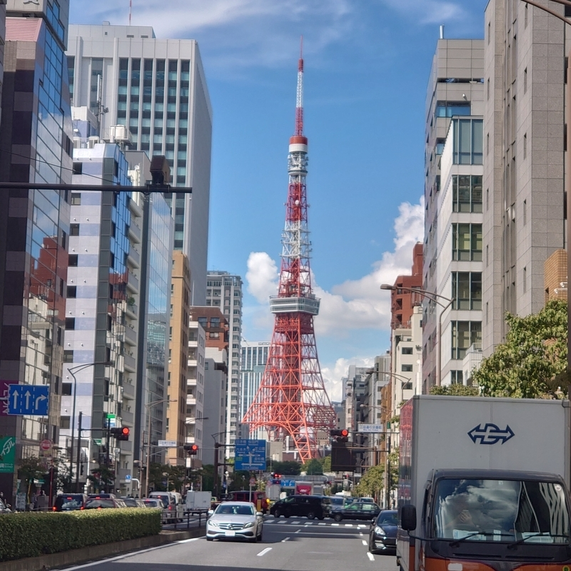 Instagram 三田 東京タワー