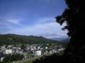 甲子大黒天本山からの眺め@小野川温泉