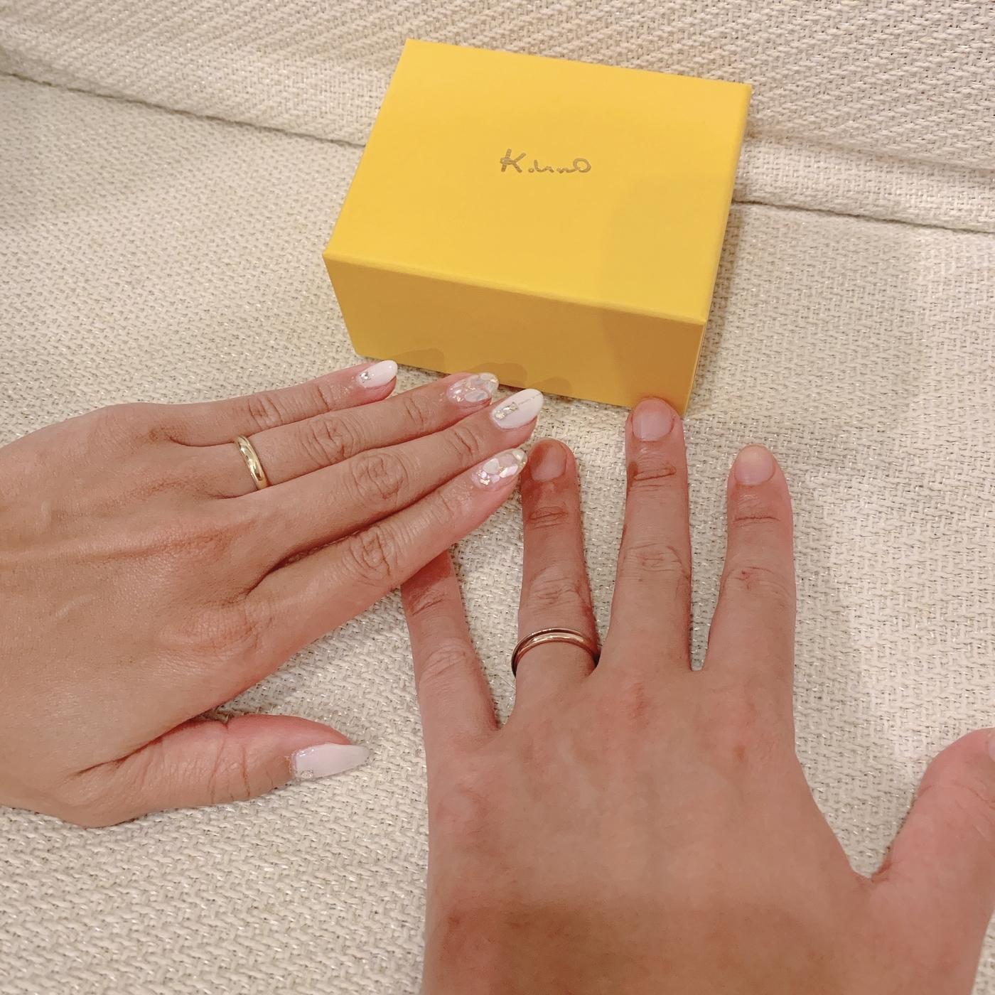 結婚指輪はケイウノ
