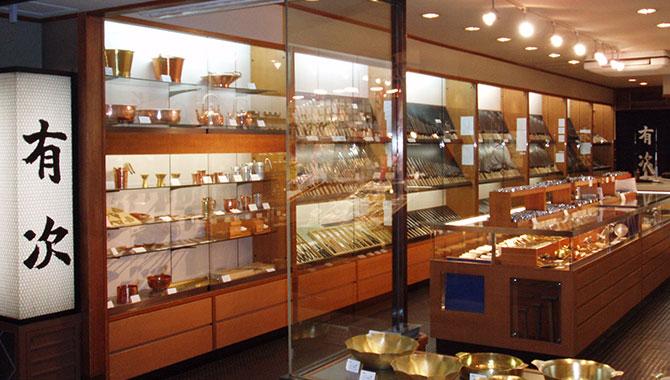 錦市場にある京都有次の本店