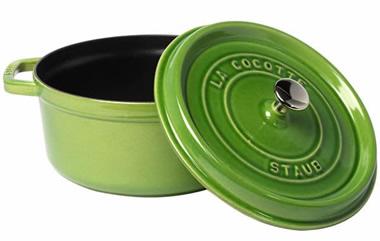 ストウブ アボカド STAUB 20cm COCOTTE ROUND avocado