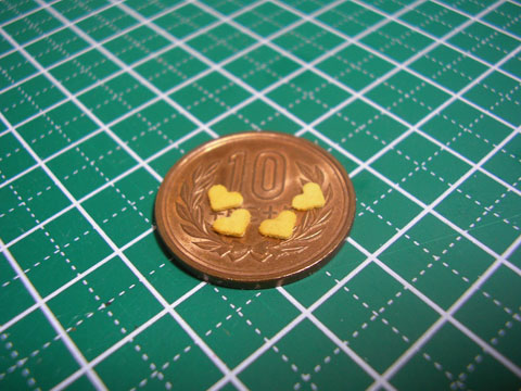 【ミニチュアフード】誰でも簡単に大量にハート型クッキーを作る方法