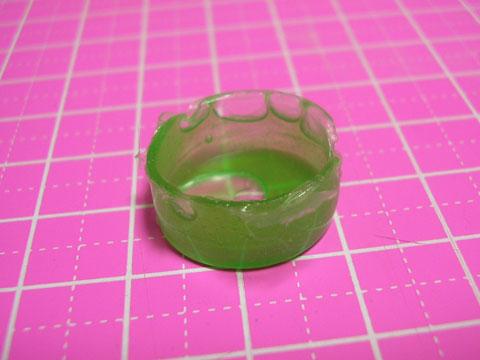 100円ショップのエポキシ接着剤で透明パーツを作る