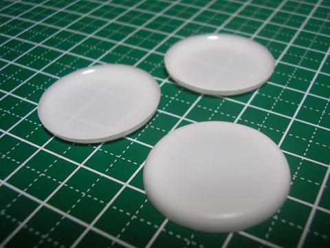 【ミニチュアフード】洋食器 丸皿の作り方