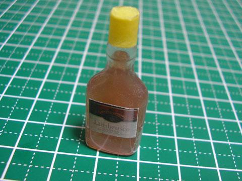 【ミニチュアフード】ウイスキー(ボトル)の作り方