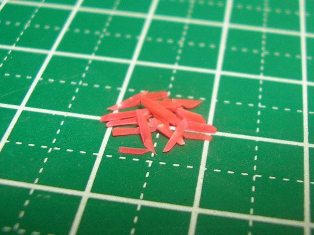 【ミニチュアフード】紅しょうがの作り方