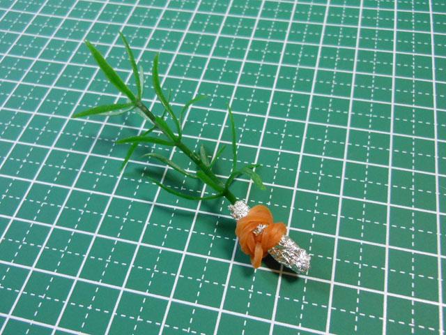 【ミニチュア小物】誰でも簡単にできる観葉植物の作り方