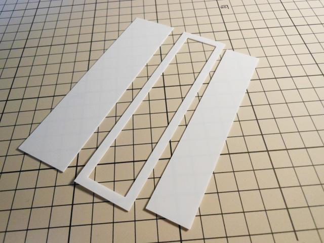 【ミニチュア小物】スタンドミラーの作り方