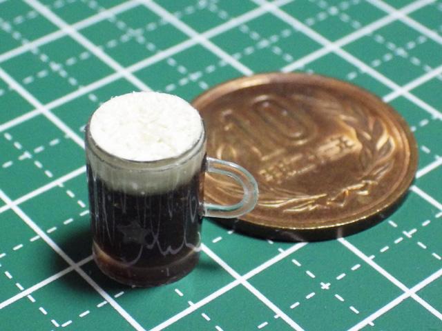 【ミニチュアフード】黒ビールの作り方