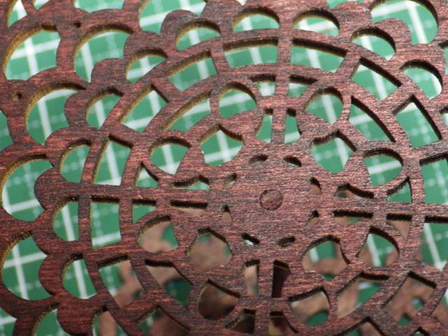 【ミニチュア小物】ロートアイアン風ガーデンテーブルの作り方