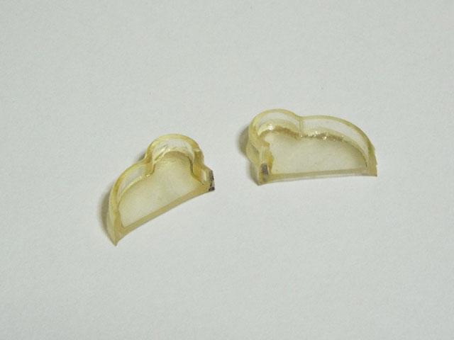 黄変した透明レジンを再透明化する方法