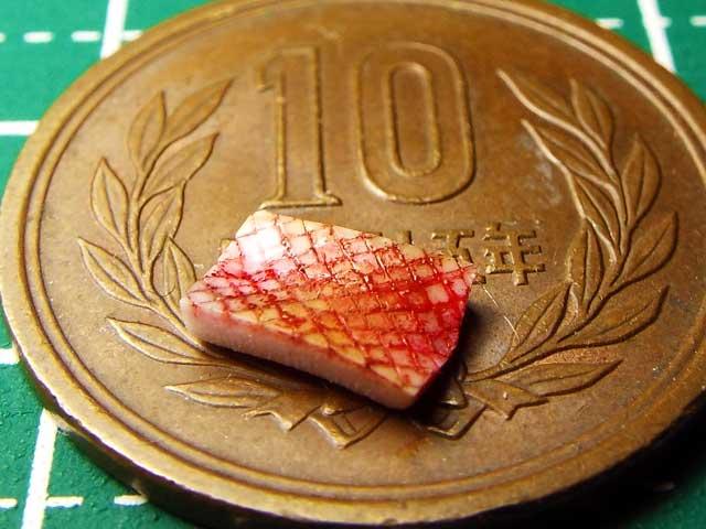 【ミニチュアフード】焼魚(切り身)の作り方