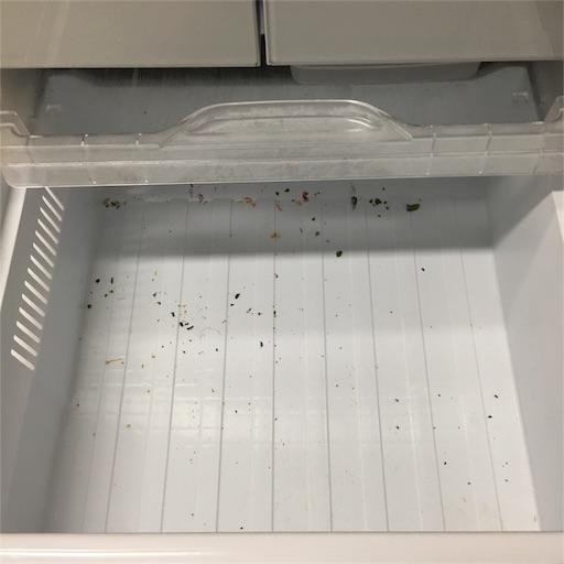 冷凍庫引き出し2下段全出し後