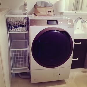 """""""洗濯機とランドリーワゴン"""""""