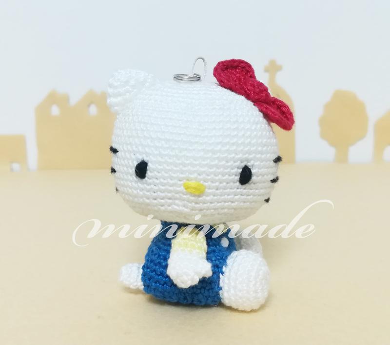 キティちゃんのあみぐるみ 作り方 Minimade
