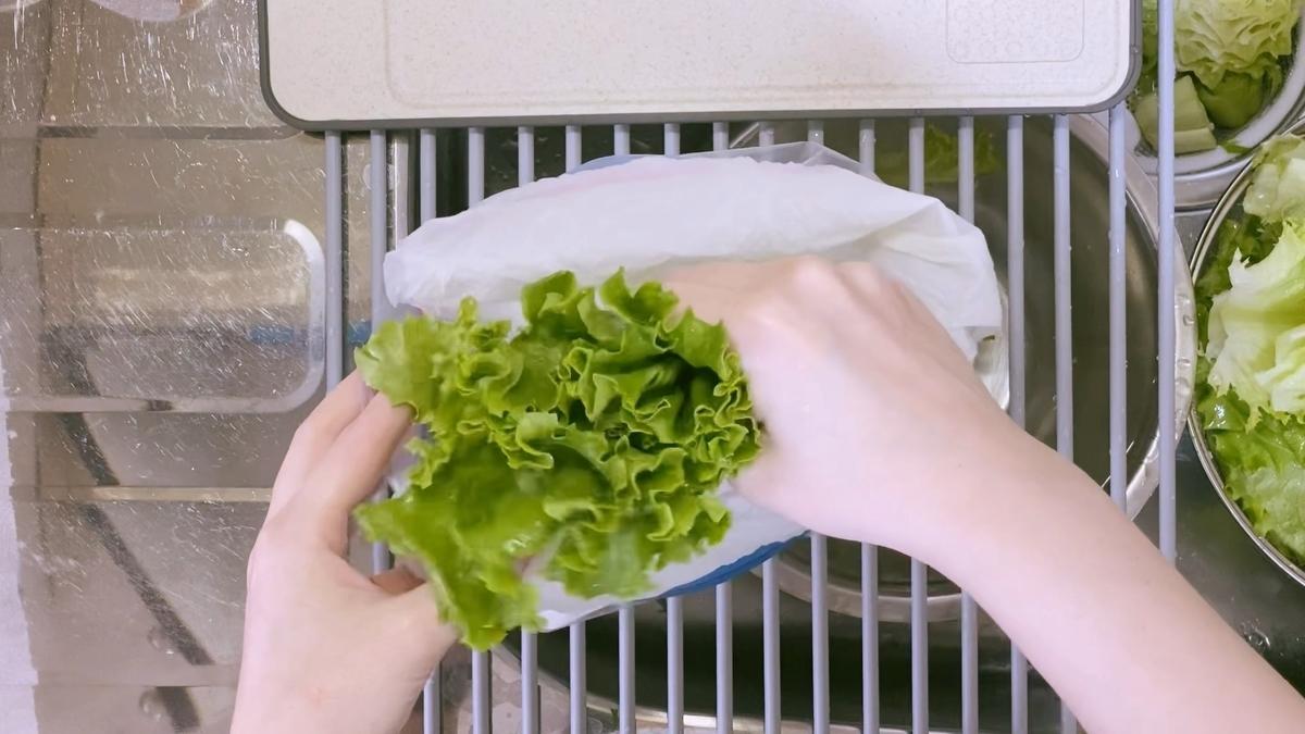 グリーンカールレタスは野菜室で保存