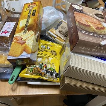 大量のバター味とチーズ味