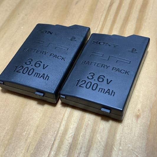 膨張したPSPのバッテリー