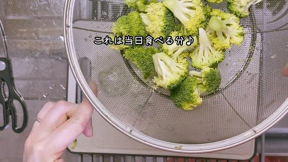 湯で野菜用
