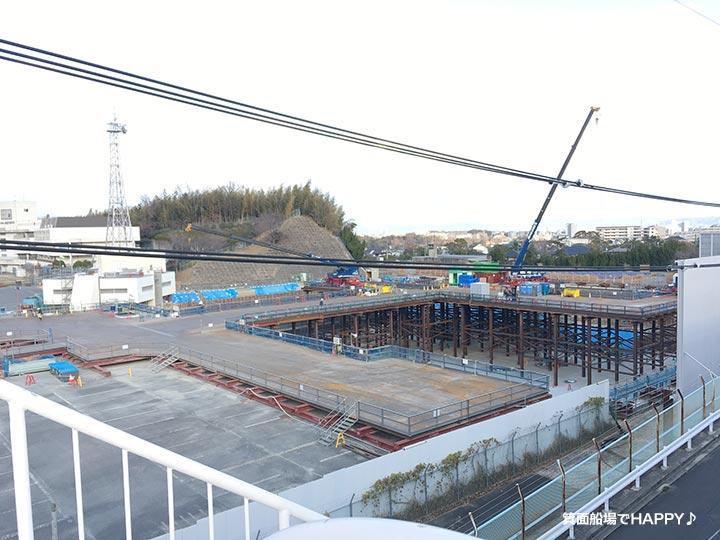 千里浄水池(新2号池)築造工事